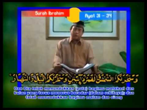 Indonesian Qori Muammar Za Surah Ibrahim video