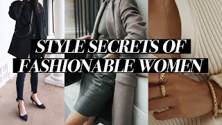 STYLE SECRETS OF FASHIONABLE WOMEN: You *NEED* to know these styling tips!! | Mademoiselle