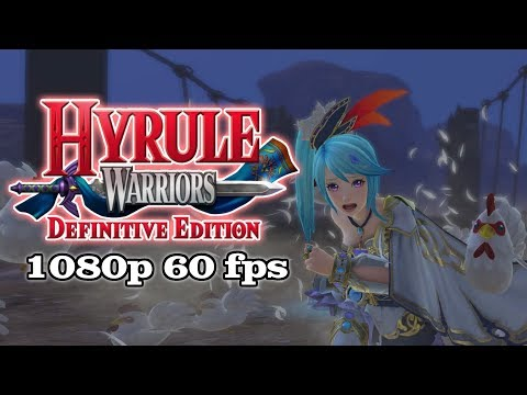 9 Minutes of Lana (Gate) Gameplay | Hyrule Warriors: Definitive Edition [1080p, 60fps]