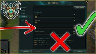 Master Player's Settings and Hotkeys (UPDATED) - League of Legends Season 8