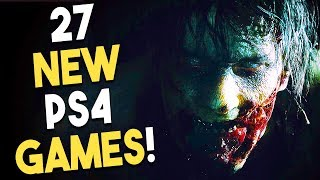 27 AWESOME NEW PS4 Games at E3 2018! EVERY PlayStation 4 Game Announced at E3!