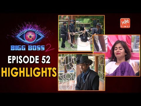 Bigg Boss Telugu Season 2: Episode 52 Highlights.!! | Pirates Vs Survivals | Kaushal | YOYO Times