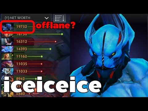 Rank 1 Net Worth Dota2 Offlane NIGHT STALKER iceiceice