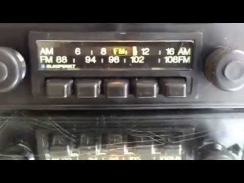 Chromelondon.com BLAUPUNKT FRANKFURT US KIT VINTAGE FM AM RADIO WITH MP3