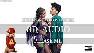 (8D AUDIO) Please Me (LYRICS) - Cardi B ft. Bruno Mars