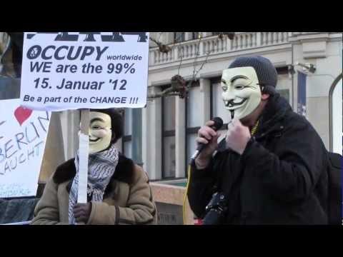Occupy Rathausmarkt: Open Mic Hamburg 15.01.2012
