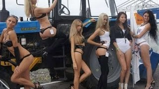 #414. Girls & Tractor [RUSSIAN CARS]