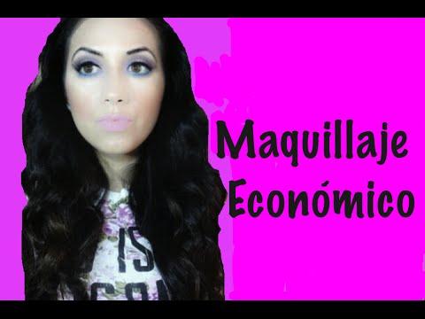 MAQUILLAJE COMPLETO CON PRODUCTOS ECONOMICOS-SORTEO