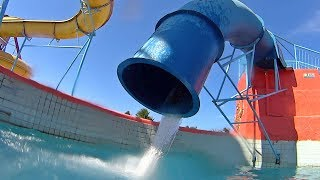 Veneza Water Park in Brazil Latino Music Clip!