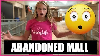 Inside an ABANDONED SHOPPING MALL 😵 Episode 18