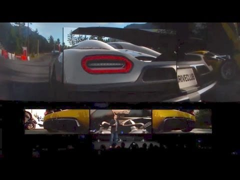 Drive Club Ps4 Gameplay Demo