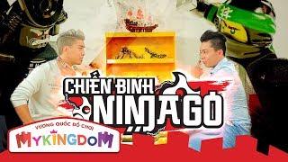 CHIẾN BINH NINJAGO   Giới thiệu và hướng dẫn cách chơi bộ thẻ bài Chiến Binh Ninjago