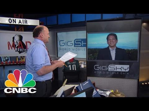 GigSky CEO: Connected Abroad Without The Headache | Mad Money | CNBC
