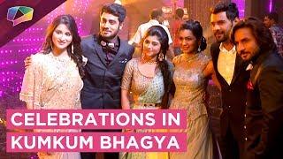 Kumkum Bhagya Celebrates On Completing  1000 Episodes   Zee Tv   Party & Dance