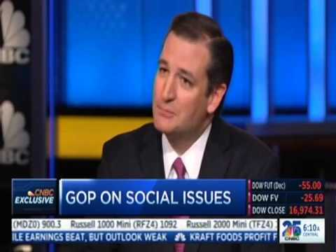 Sen. Ted Cruz on Squawk Box
