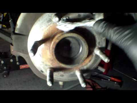 Replace front brake pads and rotor 2004 Chevy Suburban