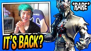 NINJA REACTS TO *NEW* BLACK KNIGHT V2 SKIN! *LEGENDARY* Fortnite FUNNY & EPIC Moments