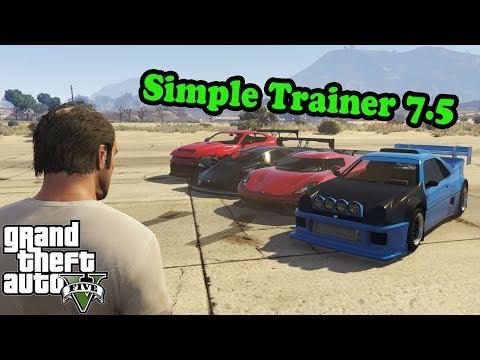 Simple Trainer 7.5