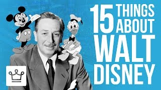 15 Things You Didn't Know About Walt Disney