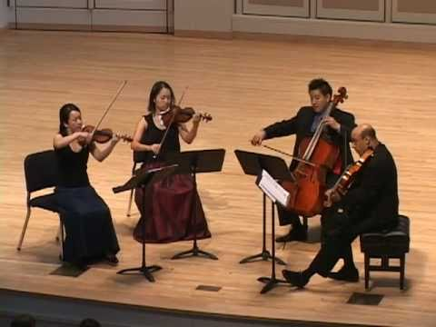 Afiara Quartet plays Haydn Op 76, No. 5, mvt. I