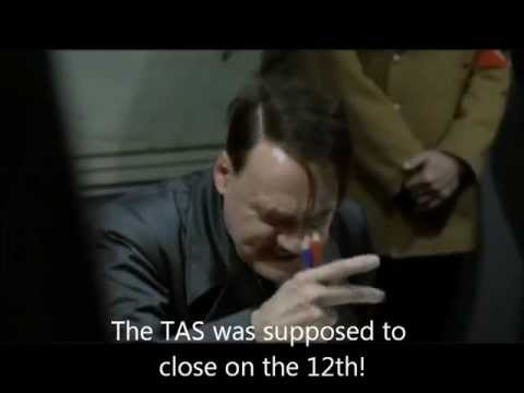 Hitler Finds Out ICANN's TAS Is Down