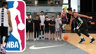 2HYPE Pretending to be NBA Players in China!