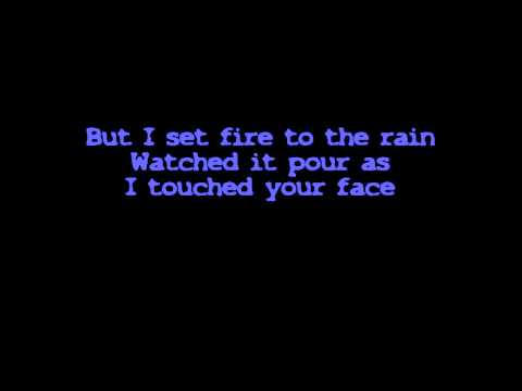 Adele - Set Fire To The Rain (Official Lyrics on Screen) [HQ_HD].mp4