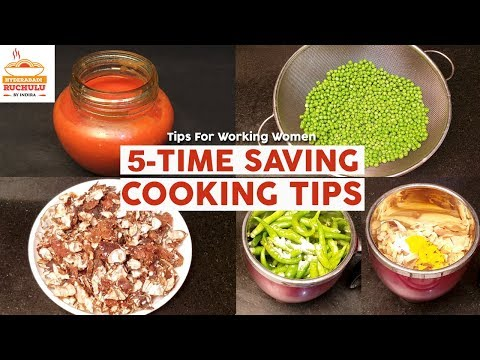 5 TIME SAVING COOKING TIPS | AMAZING KITCHEN TIPS  & TRICKS | NEW COOKING TIPS FOR WORKING WOMEN