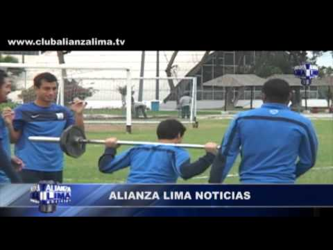 Así entrenó Alianza Lima de cara al partido contra Inti Gas