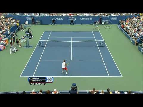 (HD)Nadal vs Murray Us Open 2008 SF