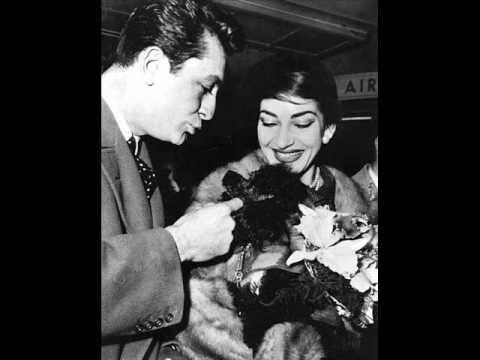 Maria Callas *Vinyl Mimi's aria from La Bohème Donde lieta usci