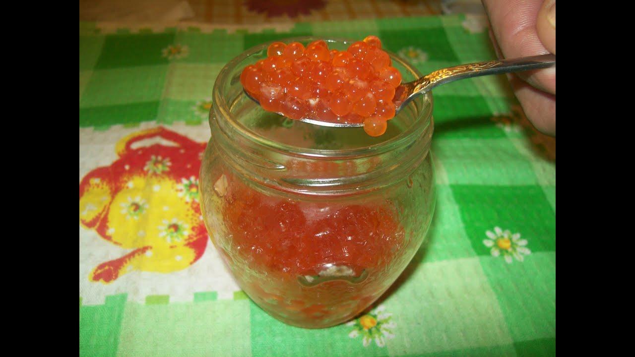 Как самим засолить красную икру форели в домашних условиях рецепт