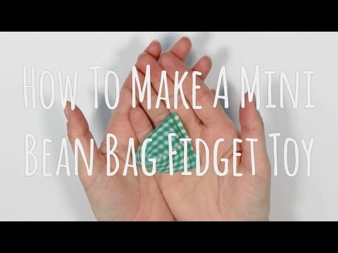 How To Make A Mini Bean Bag Fidget Toy | SpeckledSkin
