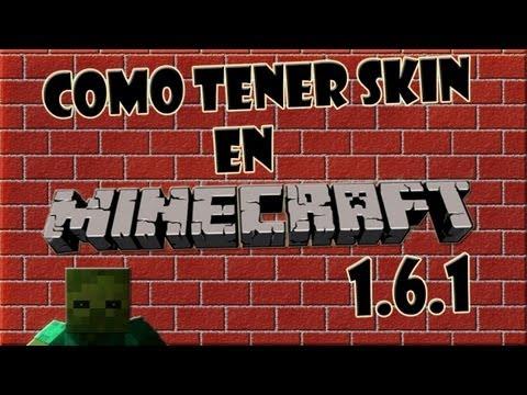Como Cambiar De Skin En Minecraft 1.6.4/ 1.7.4/1.7.5 [Tutorial En Español] [HD]