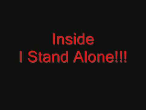 Godsmack I Stand Alone Lyrics video