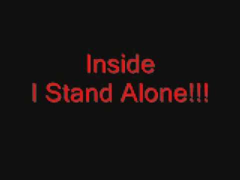 Godsmack I Stand Alone Lyrics video