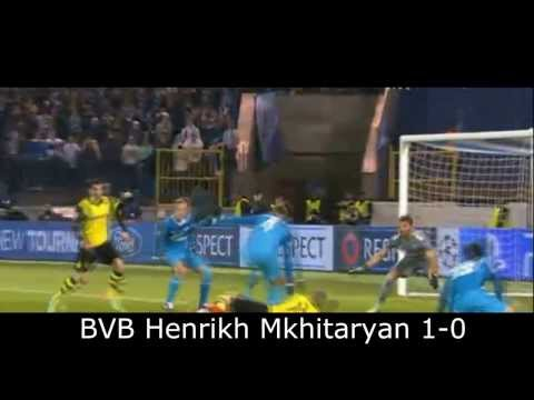 Highlights - all goals/alle Tore BVB Dormund : Zenit St. Petersburg 4-2 [25.2.2014]