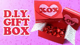 How To Make A Gift Box (valentine's Day/mother's Day)
