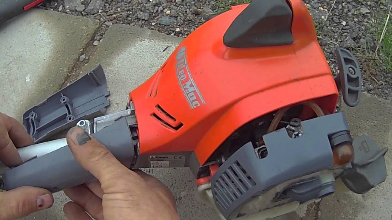 Ремонт мотокосы олео мак своими руками