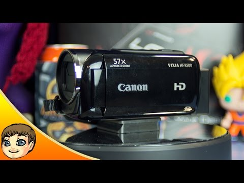 60FPS BOSS CAMCORDER   Canon Vixia HF R500 Review