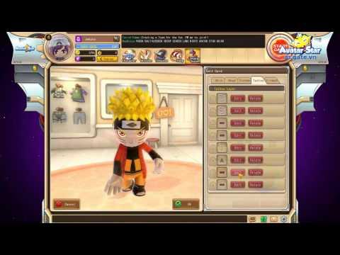 Game | Avatar Star VN Giới Thiệu Hệ Thống Avatar Card Tạo Hình Naruto | Avatar Star VN Gioi Thieu He Thong Avatar Card Tao Hinh Naruto