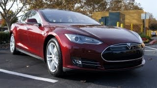Tested Test Drives the Tesla Model S Electric Car