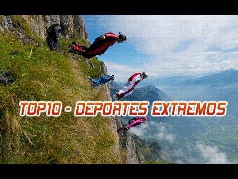 ??? TOP 10 - DEPORTES EXTREMOS MÁS PELIGROSOS DEL MUNDO ??? HD (English subtitles)