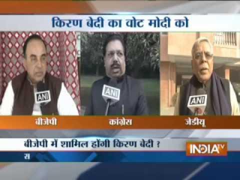 Kiran Bedi openly backs Modi for PM