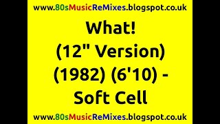 Watch Soft Cell What video