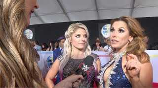 Alexa & Mickie diss Trish & Lita at the American Music Awards: WWE Exclusive, Oct. 12, 2018