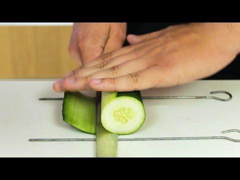 Japanese Sheet Cutting Technique - Easy Katsuramuki Tutorial