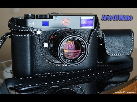 Arte Di Mano Half Case for the Leica M 240 with Grip