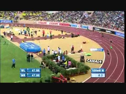 Diamond League Monaco 2011 - 400m Hurdles