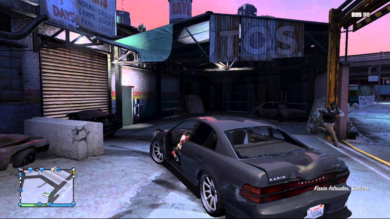 Gta 5 online open garage glitch under the map youtube for Garajes gta v online
